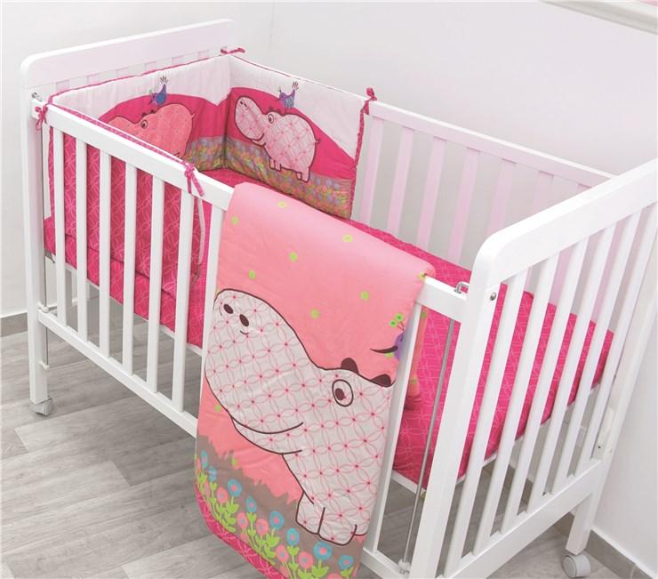 toTs by smarTrike Joy Set 3pcs Hippo Pink háromrészes ágyneműn garnitúra -  Brendon - 39151 ... 90a1edeaec