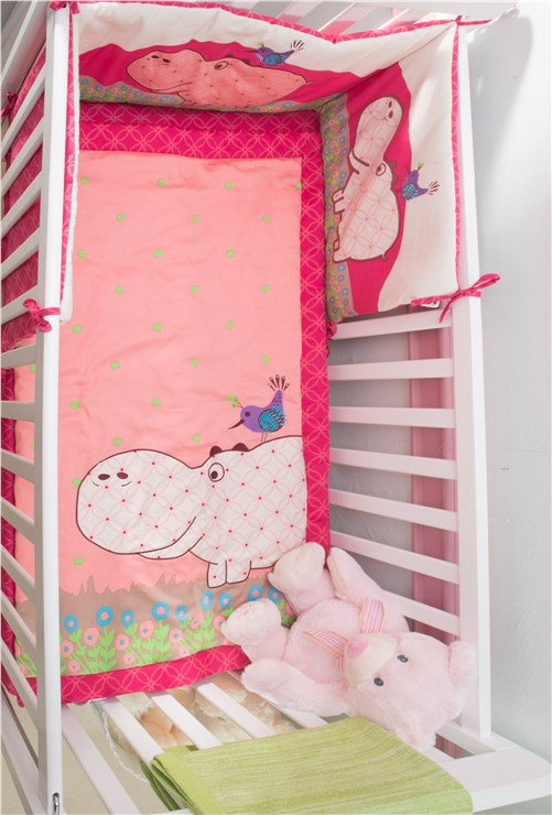 ... toTs by smarTrike Joy Set 3pcs Hippo Pink háromrészes ágyneműn garnitúra  - Brendon - 39152 ... 2acd5afda0