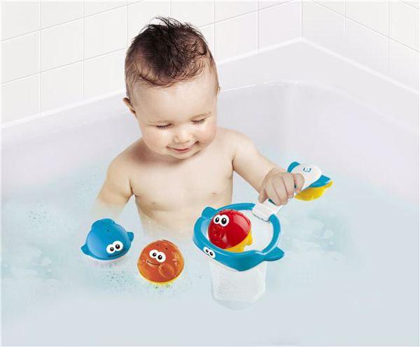 BKids Shoot 'n' Scoop Ocean Pals  fürdőjáték - Brendon - 39573