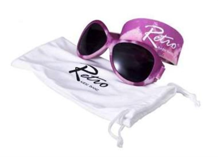 Baby Banz Retro Sungalss Diva Pink napszemüveg - Brendon - 42277
