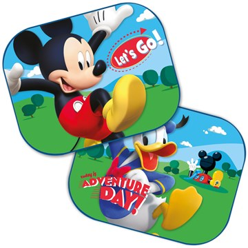 Disney Side Sunshades 2 pcs/set 44x35cm Mickey/Donald árnyékoló - Brendon - 42486