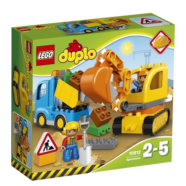 LEGO DUPLO Truck & Tracked Excavator 10812  építőjáték - Brendon - 42686