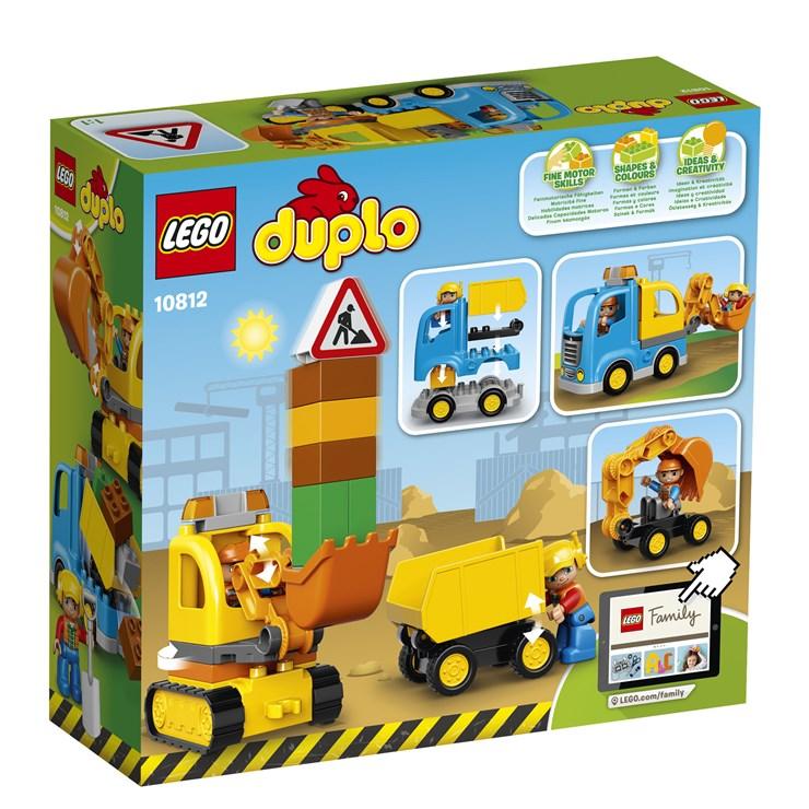 LEGO DUPLO Truck & Tracked Excavator 10812  építőjáték - Brendon - 42687