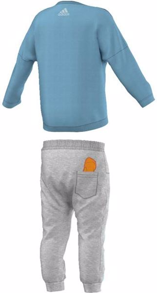 adidas AY6049 Blue-Grey jogging - Brendon - 42838