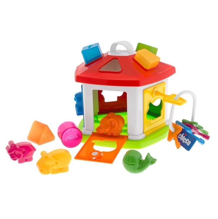 Chicco Animal Cottage WS zjednocovanie tvarov a farieb - Brendon - 43018
