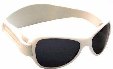 3d6c74009 Baby Banz Retro Sungalss white slnečné okuliare