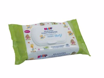 Hipp Babysanft New 50 pcs  vlhčené WC obrúsky - Brendon - 43801