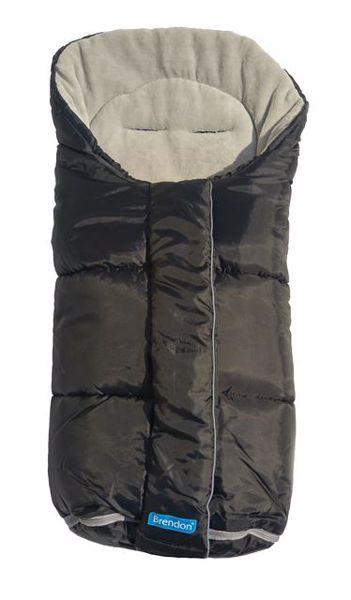 Brendon Icy Black- Light grey bundazsák babakocsihoz - Brendon - 45910