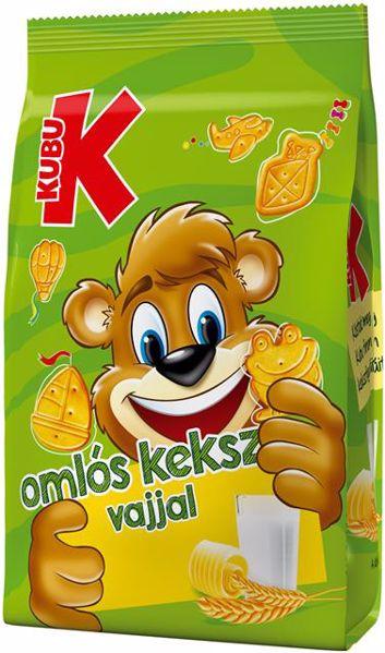 Kubu Omlós, vajjal 100g  keksz - Brendon - 45984