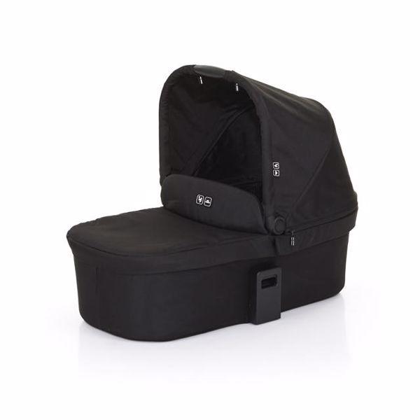 ABC Design Carrycot for Salsa 3/4, Zoom Coal babakocsivázra rögzíthető mózeskosár - Brendon - 48055
