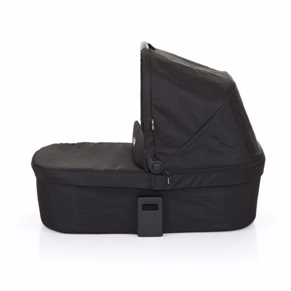 ABC Design Carrycot for Salsa 3/4, Zoom Coal vanička upevniteľná na konštrukciu detského kočíka - Brendon - 49056