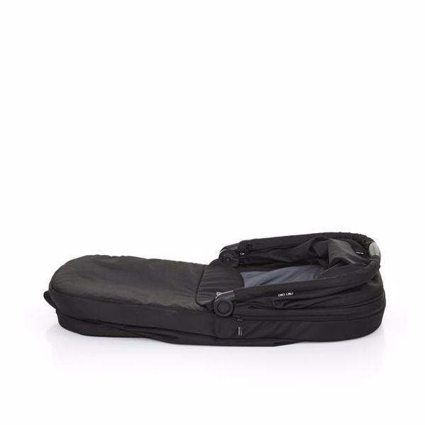 ABC Design Carrycot for Salsa 3/4, Zoom Coal vanička upevniteľná na konštrukciu detského kočíka - Brendon - 49057