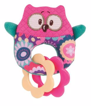 Canpol babies Forest Friends Soft Rattle with Teether  csörgő - Brendon - 51151