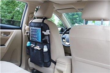 Brendon Travel iPad Backseat Organizer Black háttámlavédő - Brendon - 51649