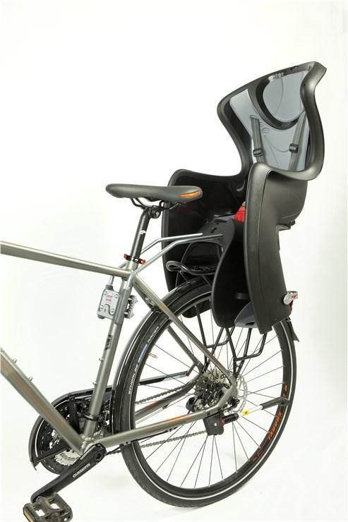 OK Baby Baby Shield Black-Grey bicikliülés hátra - Brendon - 51769