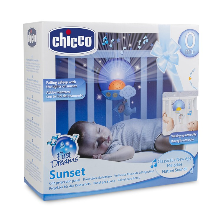 Chicco First Dream Sunset Panel Blue altató játék - Brendon - 54884