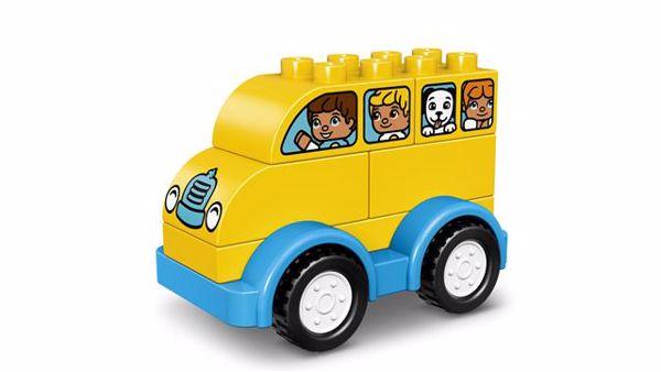 LEGO DUPLO My First Bus 10851  építőjáték - Brendon - 54968