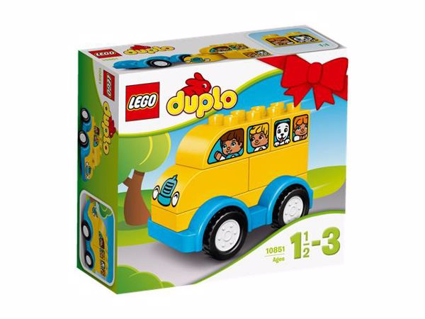 LEGO DUPLO My First Bus 10851  építőjáték - Brendon - 54972