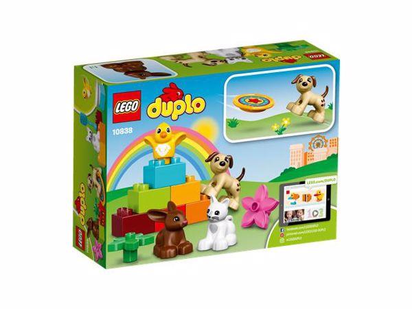LEGO DUPLO Family Pets 10838  építőjáték - Brendon - 54984