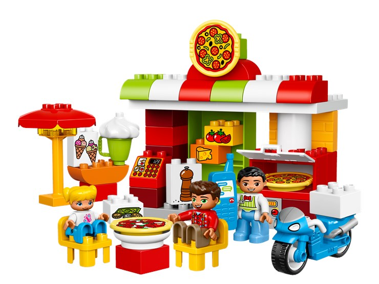LEGO DUPLO Pizzeria 10834  építőjáték - Brendon - 54991