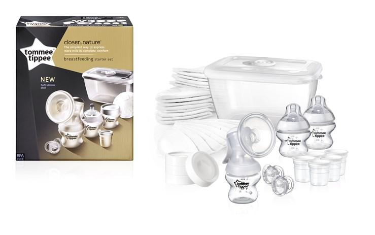 Tommee Tippee CTN Starter Kit new  ručná odsávačka mlieka - Brendon - 55138