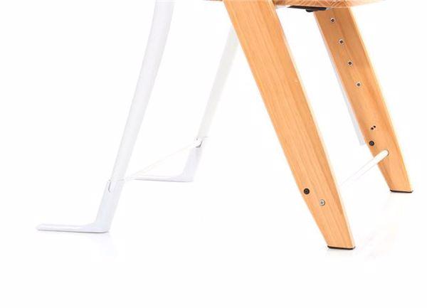ABC Design Hopper Nature stolička na kŕmenie drevená - Brendon - 55812