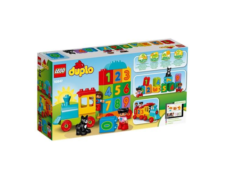 LEGO DUPLO Number Train 10847  stavebnica - Brendon - 55979