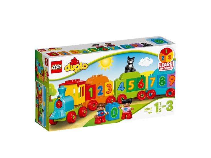 LEGO DUPLO Number Train 10847  stavebnica - Brendon - 55980