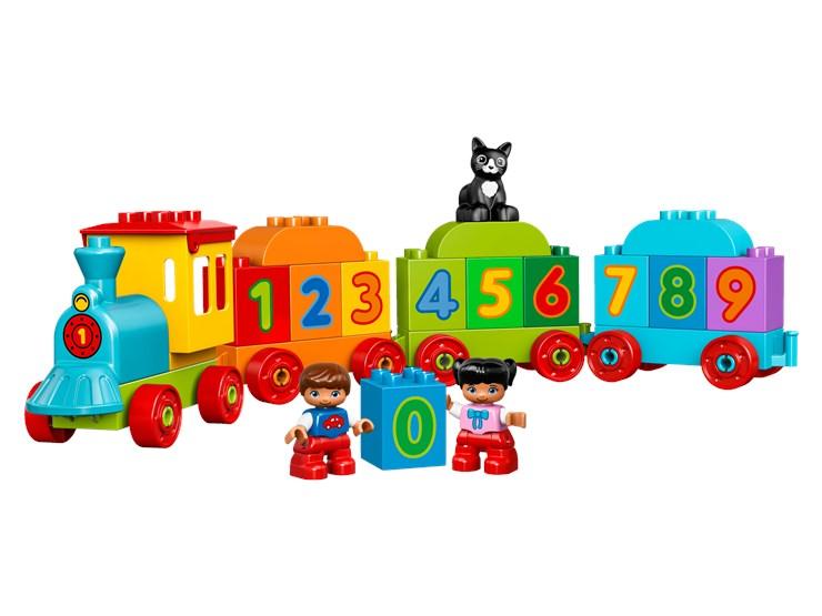 LEGO DUPLO Number Train 10847  stavebnica - Brendon - 55981