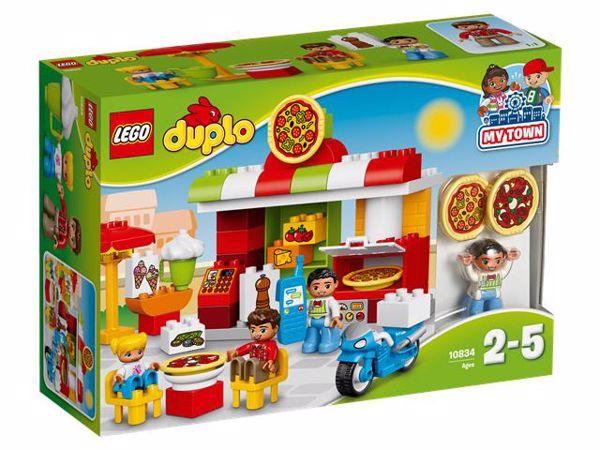 LEGO DUPLO Pizzeria 10834  stavebnica - Brendon - 55990