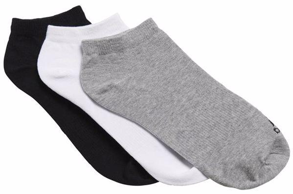 adidas AA2313/3pcs Black-Grey-White zokni - Brendon - 57232