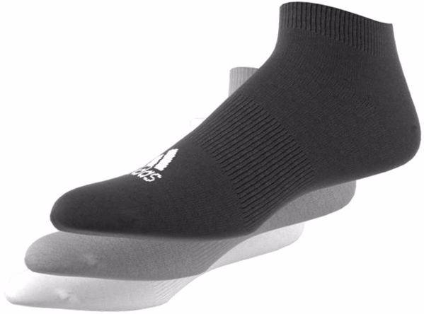 adidas AA2313/3pcs Black-Grey-White zokni - Brendon - 57233