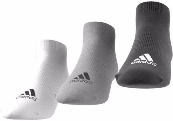 adidas AA2313/3pcs Black-Grey-White zokni - Brendon - 57234