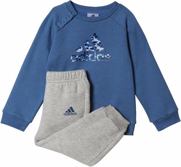 adidas BP5280 Core Blue-Grey jogging - Brendon - 57644