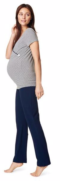 ... Noppies Maternity 66600 Fleur C165 Dark Blue pizsama nadrág - Brendon -  57986 99e1584c7b