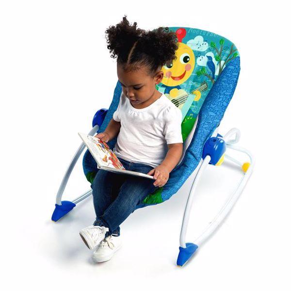 Baby Einstein Infant Toddler Rocker  kreslo na odpočívanie - Brendon - 58106