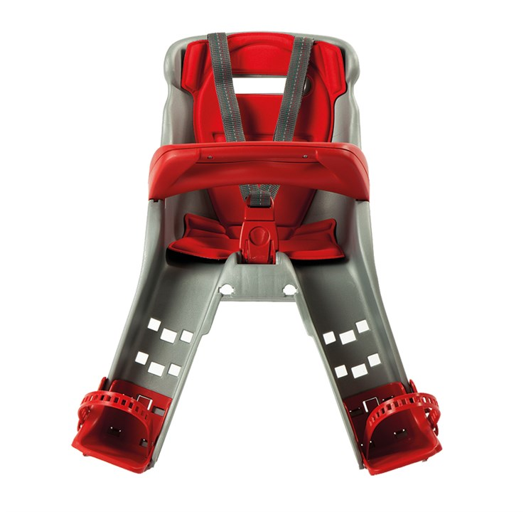 OK Baby Orion Grey-Red bicikliülés előre - Brendon - 61322