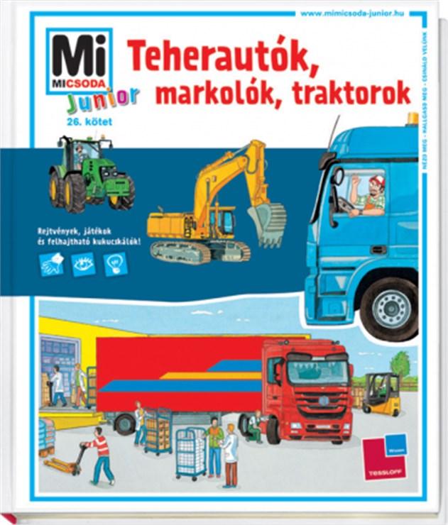 Babilon Junior Teherautók, markolók, traktorok  gyermekkönyv - Brendon - 61492