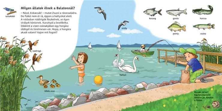 Babilon Mini Itt a nyár, csuda jó a Balaton!  gyerekkönyv - Brendon - 61504