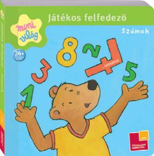 Babilon Játékos felfedező - Számok  gyermekkönyv - Brendon - 61505