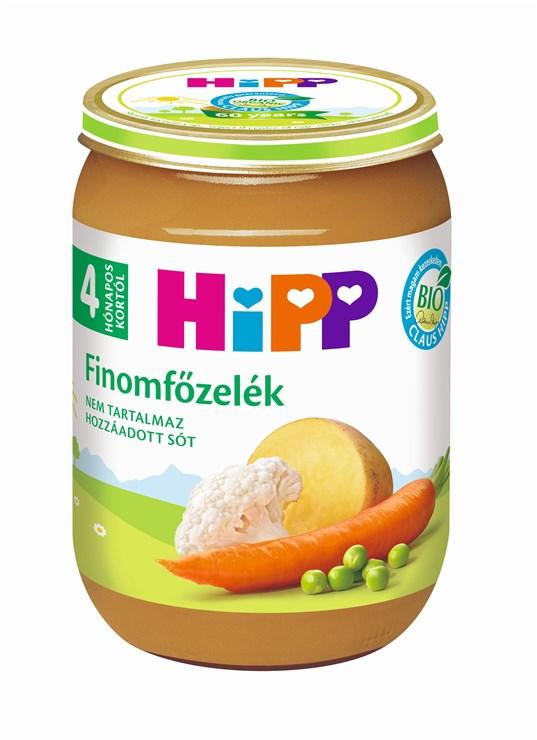 Hipp Finomfőzelék 190g  bébiétel - Brendon - 64812