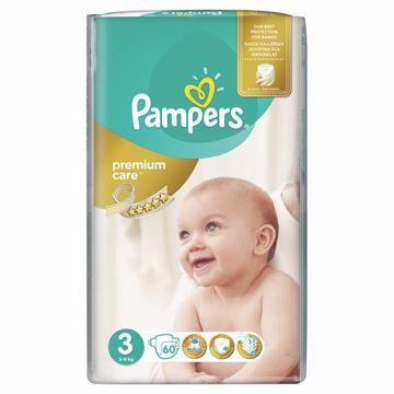 Pampers Premium Care 3 Midi 60 pcs  eldobható pelenka - Brendon - 64998