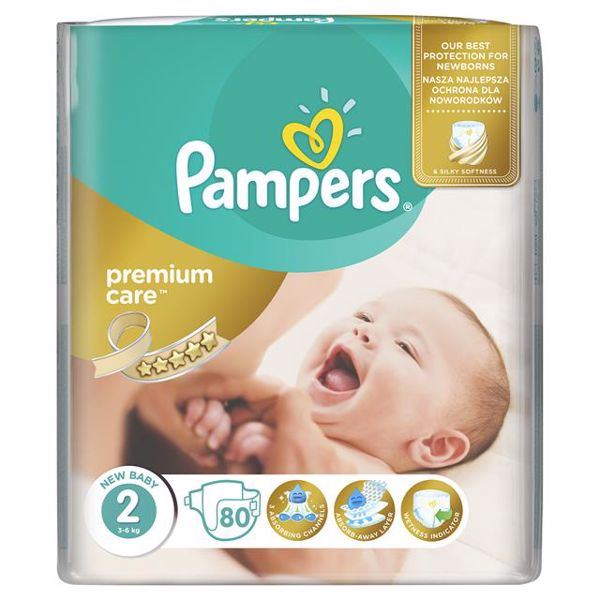 Pampers Premium Care 2 Mini 80 pcs  eldobható pelenka - Brendon - 64999