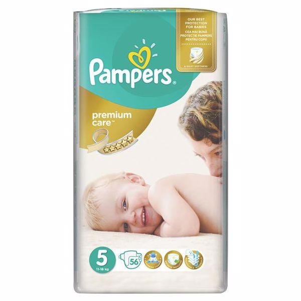 Pampers Premium Care Giant 5 Junior 56 pcs  eldobható pelenka - Brendon - 65091