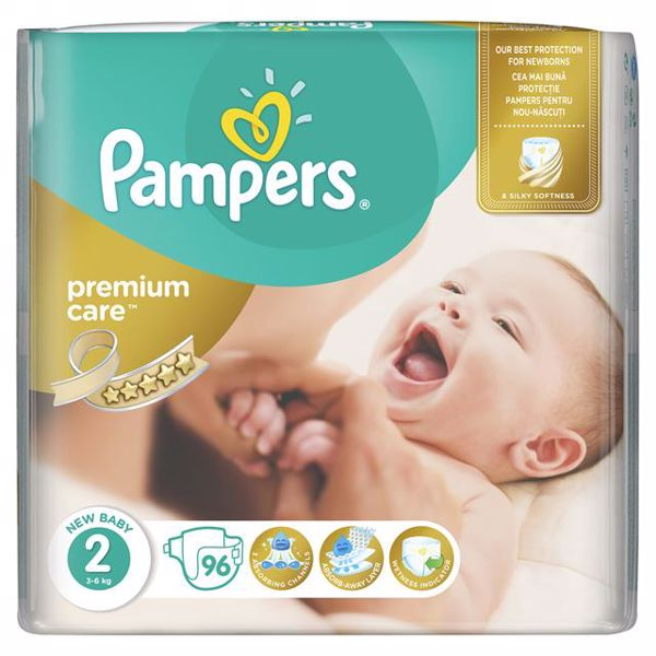 Pampers Premium Care Giant 2 Mini 96 pcs  jednorázové plienky - Brendon - 65995