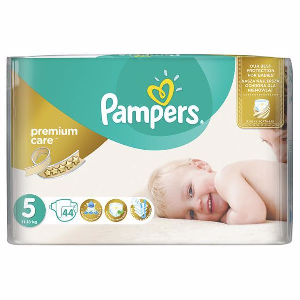 Pampers Premium Care 5 Junior 44 pcs  jednorázové plienky - Brendon - 65996