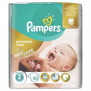 Pampers Premium Care 2 Mini 80 pcs  jednorázové plienky - Brendon - 65999