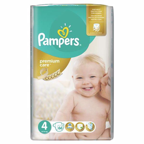 Pampers Premium Care Giant 4 Maxi 66 pcs  jednorázové plienky - Brendon - 66090