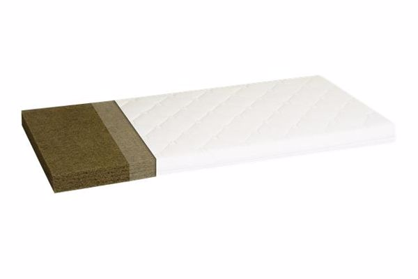 Badum 140 x 70 x 6 Quilted cover White kókusz matrac - Brendon - 67298