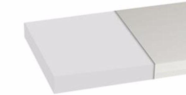 Badum 140 x 70 x 6 Terry cover White szivacs matrac - Brendon - 67302